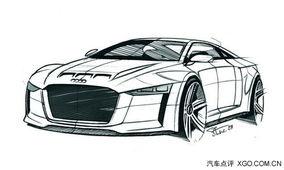 ...克福车展上展出全新的Quattro概念车-接近800马力 奥迪将推新...