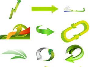 绿色箭头免抠png图片3