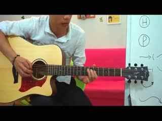 初学者吉他教学视频 尤克里里如何调音 学习吉他入门指法