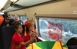 沪昆高铁 云桂铁路全线开通运营 中国 四纵四横 高铁网基本投入运营
