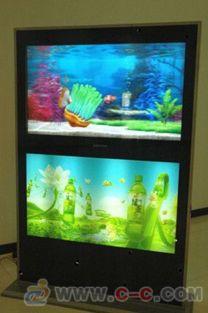 商场双屏广告机 立式广告机