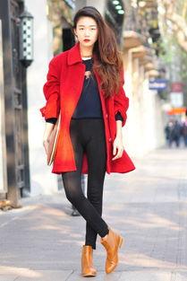 ava222-新年就要红大衣才能能量满满