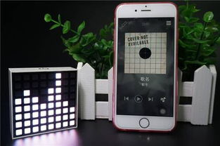 ...就是音乐播放时像素灯会产生律动的效果.DOTTI智能像素灯本身...