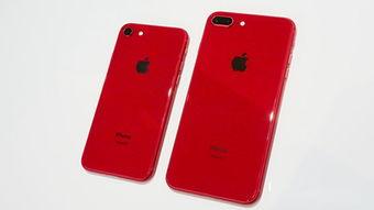 iPhone8 8Plus红色特别版真机图赏