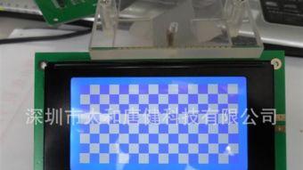 LCD点阵12864 128 64LCD液晶模块 KS0108