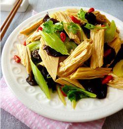 凉拌腐竹-缓解假期综合症的快手小菜