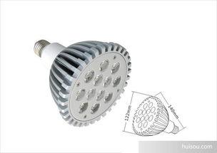 射灯 杯灯价格 12W大功率LED射灯杯,12W LED车铝灯杯批发价格 ...