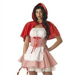 巫仆-安徒生童话 小红帽 女仆装 万圣节