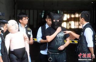 内地游客香港被杀 警方押疑犯现场重组案情
