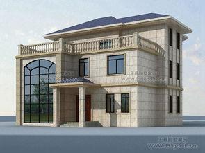 2017年两层半别墅新趋势 设计图