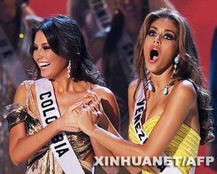 环球小姐决赛 委内瑞拉小姐夺魁