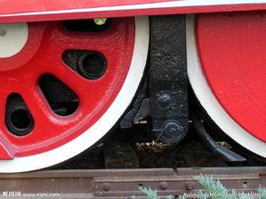 火车轮子图片
