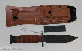 刀背加上锯齿的卡巴.其同样在二... 飞行员可随身携带的工具受到很大...
