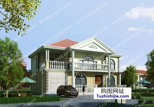 ...90平方米农村二层别墅建筑设计图纸,15x13米