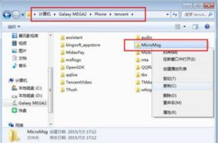 ...微信小视频保存在video文件夹中、语音消息则保存在voice2文件夹中...