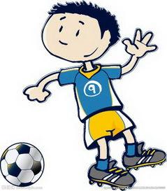垂头丧气火柴人创意设计-卡通人物足球素材图片