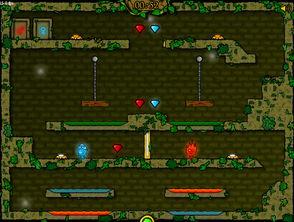...林冰火人无敌版下载 森林冰火人下载 飞翔游戏