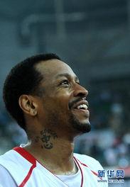 三国篮坛传说-美国篮球传奇巨星队胜中国国奥队