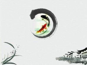 ...淡雅幻灯片背景图片,灰色,水墨中国画PPT背景-淡雅灰色水墨中...