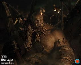 魔兽世界 电影出了第一张剧照,你对兽人满意吗