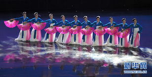 11月19日,朝鲜平壤艺术团演员在第十三届亚洲艺术节上表演民族歌舞...
