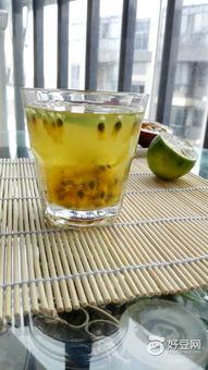 百香果柠檬蜂蜜水的做法步骤是什么?