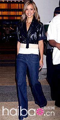 ...是女人衣橱中的重量级美丽单品.不过,并不是每个人都能将仔裤穿...