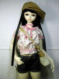 SD娃娃个性服饰 再送给扬姐姐一点SD娃娃希望喜欢