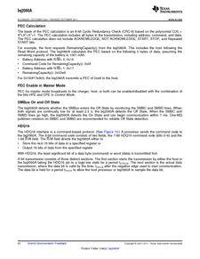 ...ents厂商 BQ2060A E619DBQG4 pdf预览第 20 页, datasheet数据手...