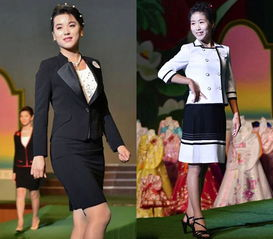 图为摄影记者拍摄的平壤年度时装秀-记者实拍朝鲜平壤时装秀