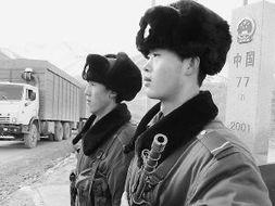 兵的大吉吧-走近守卫在中吉边境的雪山国门铁... 国门哨兵