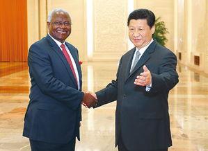 ...第二届世界和平论坛的塞拉利昂总统科罗马.-中非合作大有可为前景...
