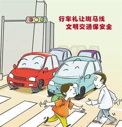 礼让斑马线 应是驾驶员的基本文明素养