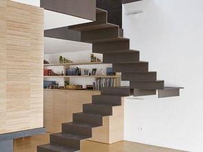 简约复式楼梯设计效果图-2018简约楼梯效果图 房天下装修效果图