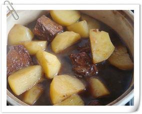 经典牛肉做法--土豆炖牛肉