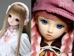 漂亮的SD娃娃,芭比娃娃