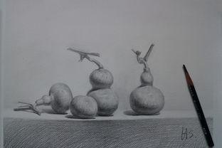 一些素描画