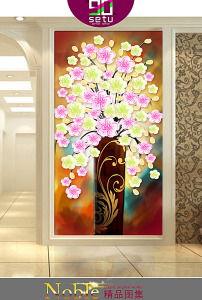手绘装饰画花瓶我图网-手绘装饰画花瓶