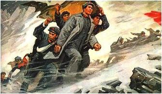 长征高清-毛主席在长征途中