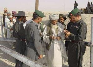 """巴基斯坦军人在边境""""搜查拉登同党""""-拉登保镖受命成为 基地 在海湾..."""
