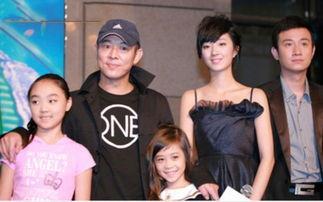 ...李连杰已经4个女儿了 个个名媛范儿高颜值