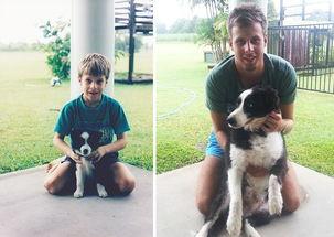 ...5日报道,小主人和自家的狗狗一起长大是一件非常了不起并且十分...