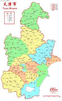 ...津市分乡镇行政区划地图