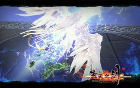 瞬间给敌人造成毁灭性打击.   天使   矢羽般划破天空的巨剑,不知是   ...
