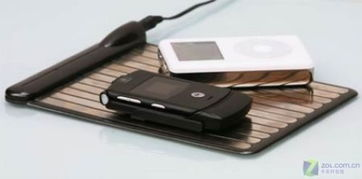 ...与iPod一起充电 无线充电器亮相
