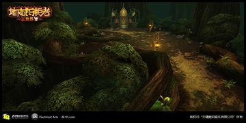《地下城守护者》场景《地下城守护者世界》是一款以西方魔幻文化...