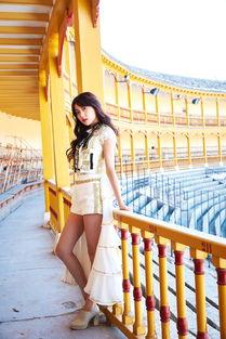 ...班牙拍摄MV《公主披风》,TOP16鞠婧t、李艺彤、黄婷婷、曾艳...