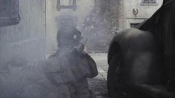 巴斯通,三人身后的就是M1919A6
