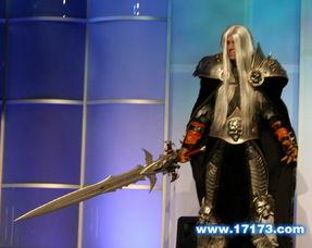 组图 魔兽 巫妖王之怒 阿尔萨斯COS