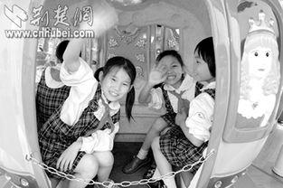 ...,在武汉市儿童福利院快乐玩耍-为了1600万未成年人健康成长